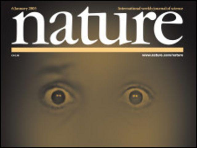 Nature ဂျာနယ် မျက်နှာဖုံး တခု