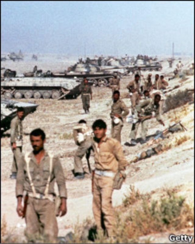 سربازان ایرانی در جنگ