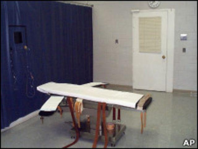 Inilah ruangan yang akan digunakan untuk eksekusi Teresa Lewis