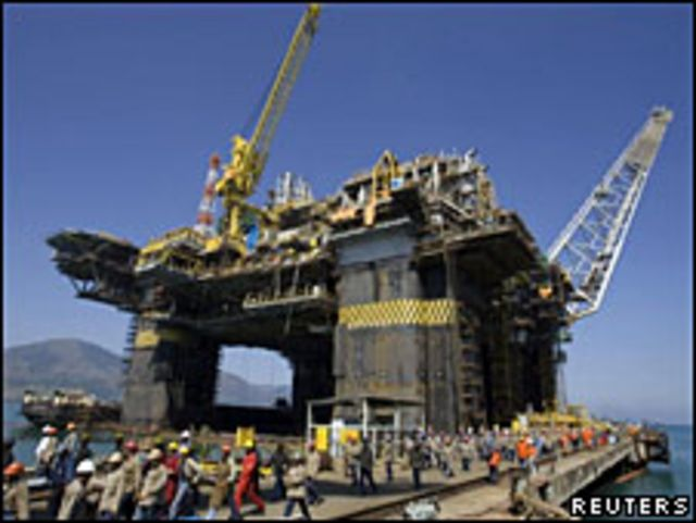Plataforma de Petrobras