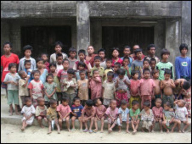 Orphans in Rakhine
