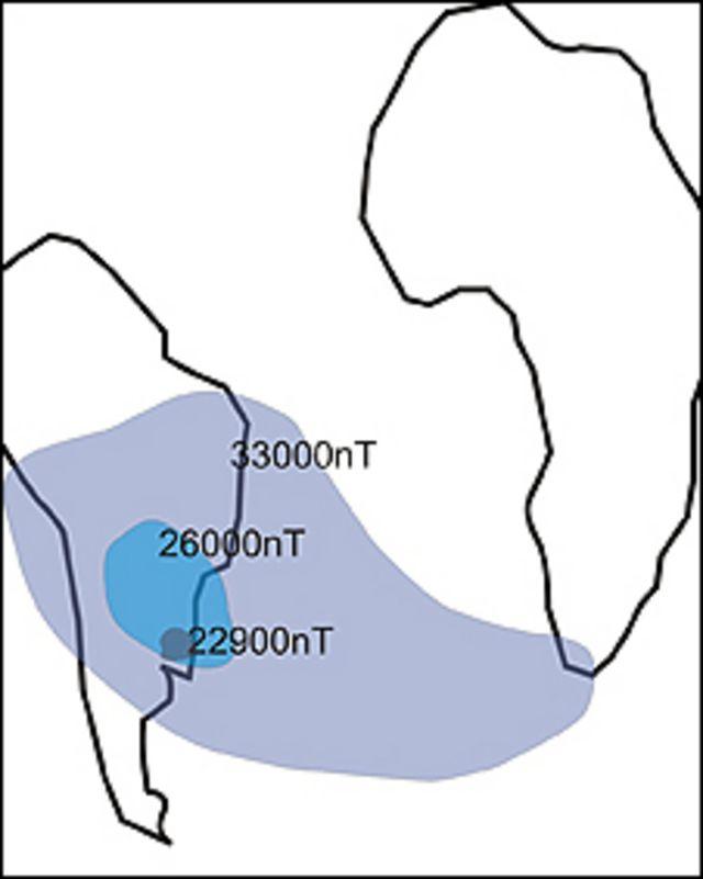 Anomalía Magnética del Atlántico Sur.