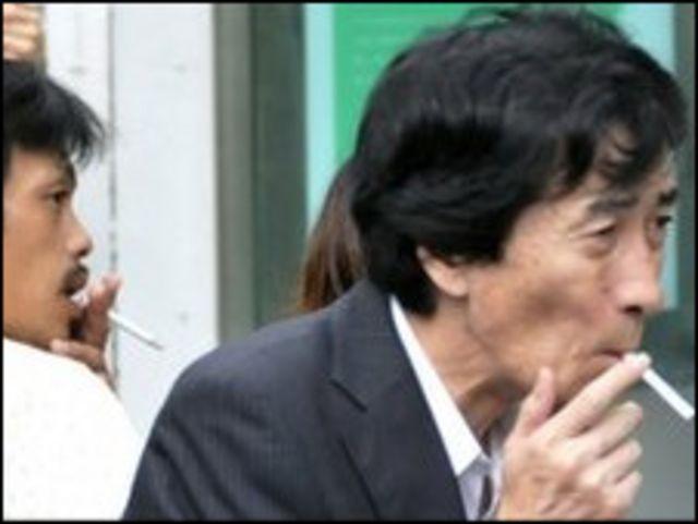 Japonya'da sigara tiryakileri