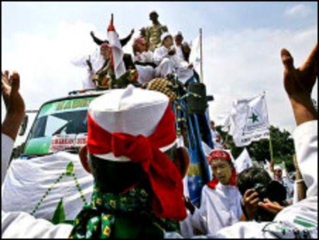 aksi menentang ahmadiyah