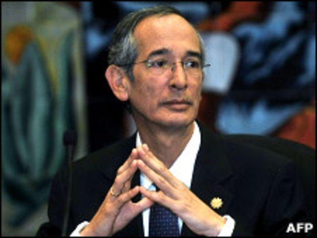 Президент Гватемалы Альваро Колом