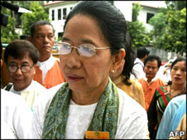 Daughter of Former Prime Minister, Daw Than Than Nu
