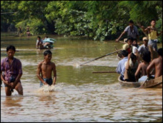Mandalay floods