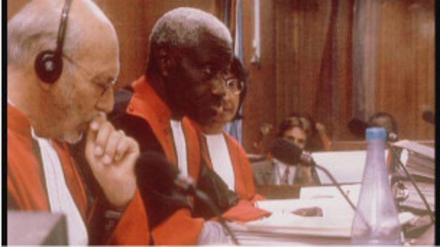 Abacamanza ba senatre ya Arusha -ICTR
