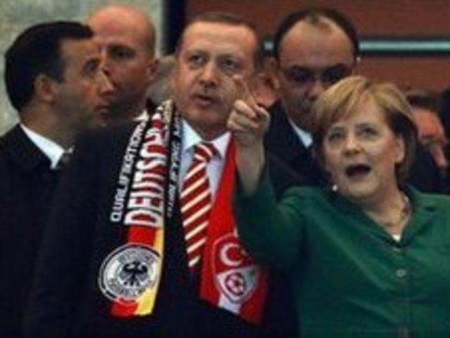 Merkel ve Erdogan
