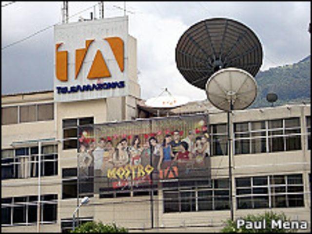 Instalaciones de Teleamazonas en Quito