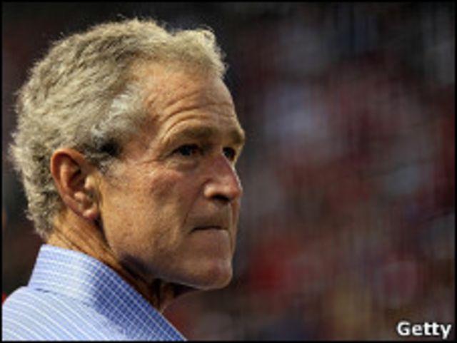 George W. Bush, ex presidente de EE.UU.