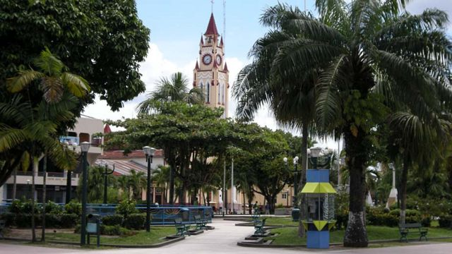 Plaza de Armas de Iquitos. Foto: Javier Lizarzaburu