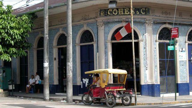 Casa Cohen.  Foto: Javier Lizarzaburu