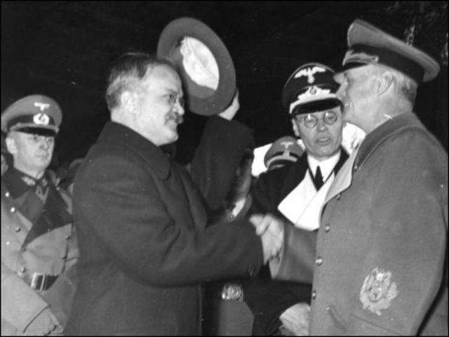 Отъезд Вячеслава Молотова с Ангальтского вокзала в Берлине 14 ноября 1940 г. (фото Бундесархива ФРГ)