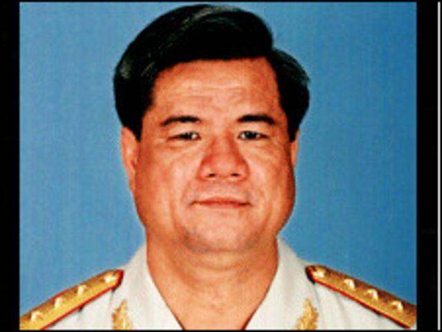 Thượng tướng Nguyễn Khắc Nghiên là Tổng Tham mưu trưởng từ năm 2006
