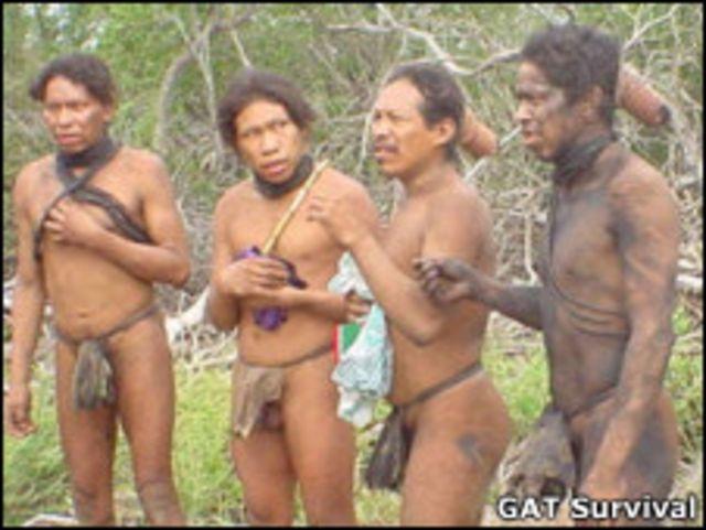 Ayoreo原始部落人