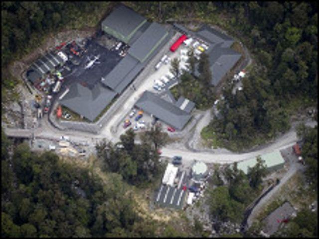 Tambang Pike River tempat 29 pekerja terjebak sejak Jumat