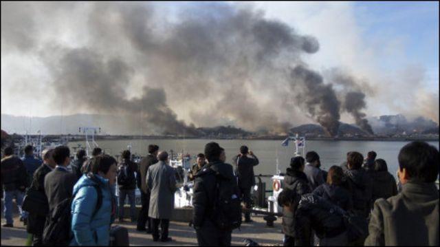 serangan korea utara