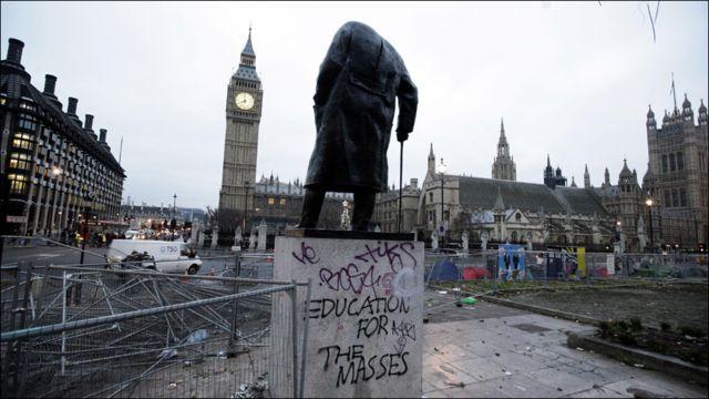 Беспорядки в Лондоне