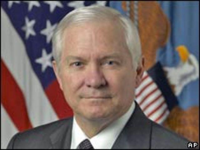 美國國防部長蓋茨