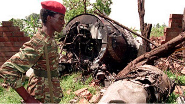 L'avion du president rwandais Juvénal Habyarimana avait été abattu en 1994.