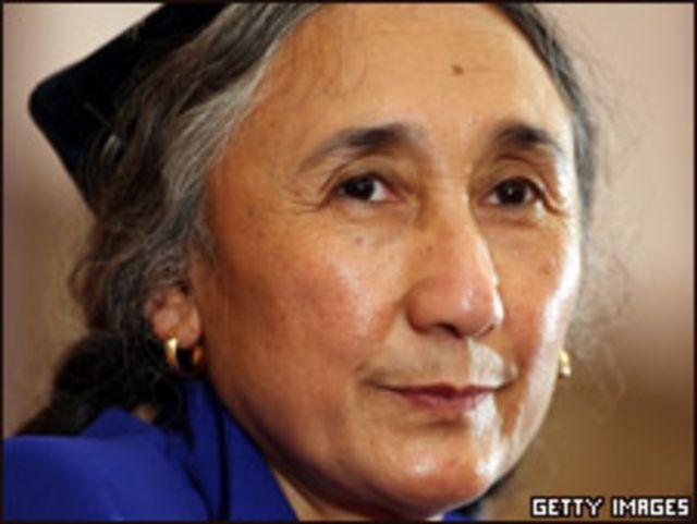 流亡美國的新疆維吾爾運動領袖熱比婭