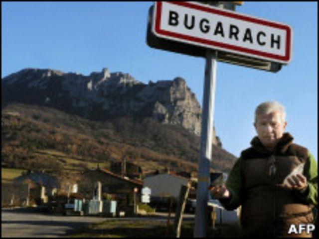 Jean-Pierre Delord, alcalde de Bugarach,