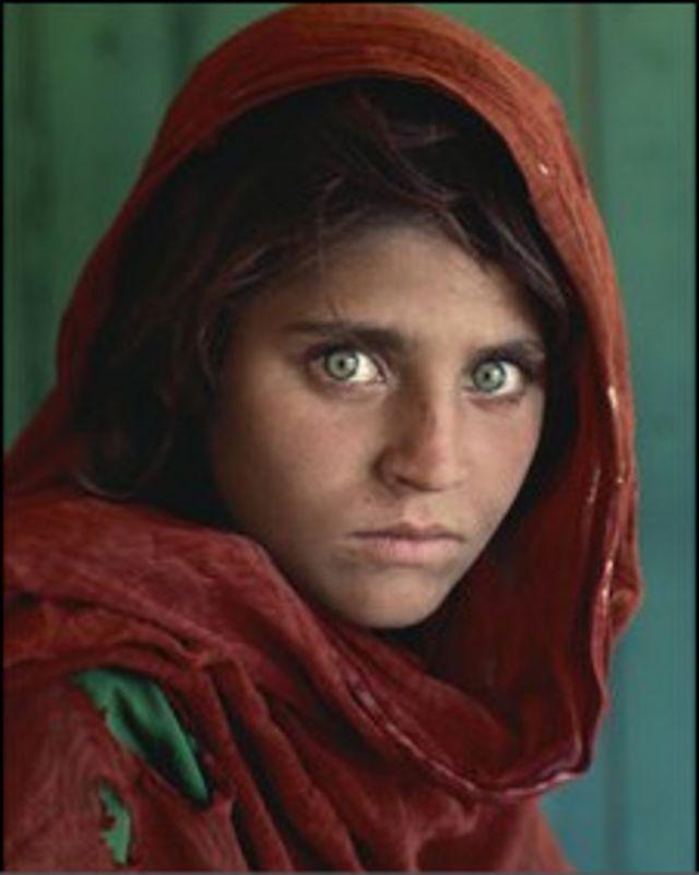 Афганская девушка