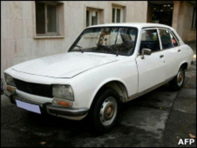 艾哈邁迪內賈德的汽車