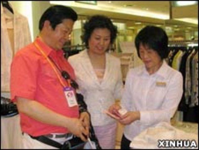 大陸遊客在台灣購物(16/03/2009)