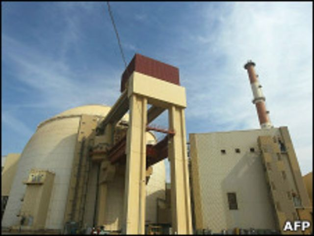 伊朗南部的核電站(2010年10月)