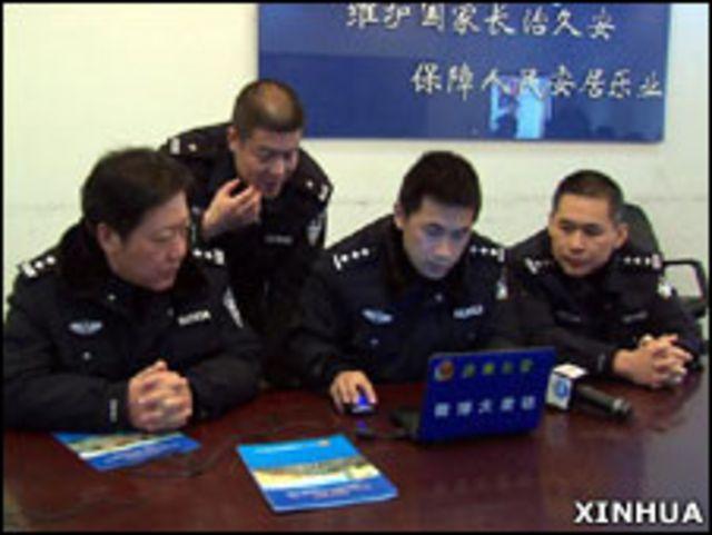 中國至少有500個公安機關正在通過微博向公眾發佈消息