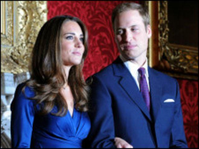 威廉王子與凱特