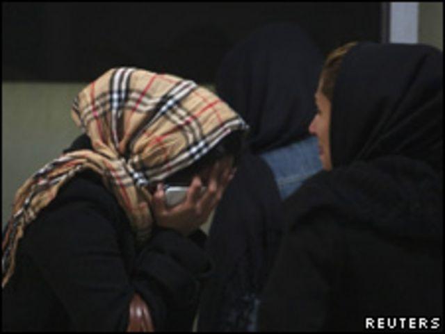 伊朗空難死者親屬