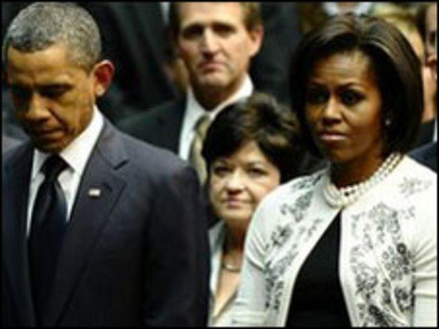 奧巴馬總統和夫人