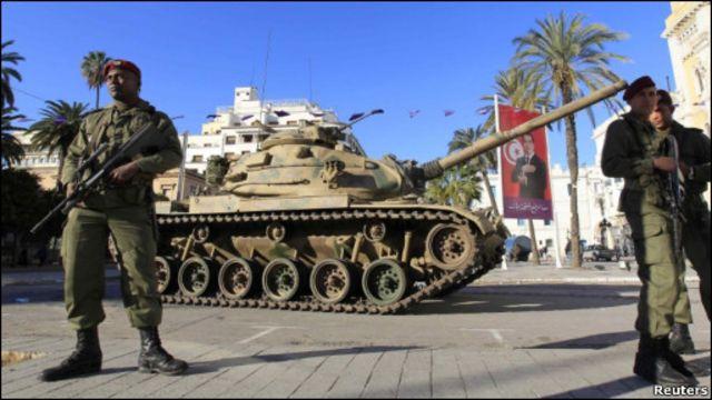 突尼斯士兵