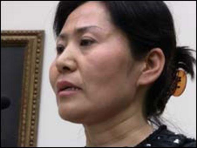 中國維權律師高智晟的妻子耿和