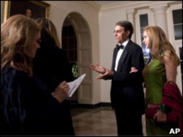 「人權觀察」執行總裁肯尼斯·羅斯參加白宮為胡錦濤舉行國宴