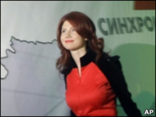 Anna Chapman, agen Rusia