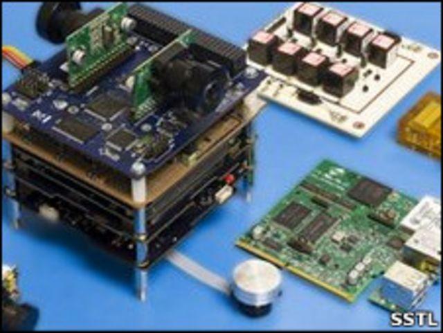 英國薩裏衛星科技公司「STRaND」微型衛星