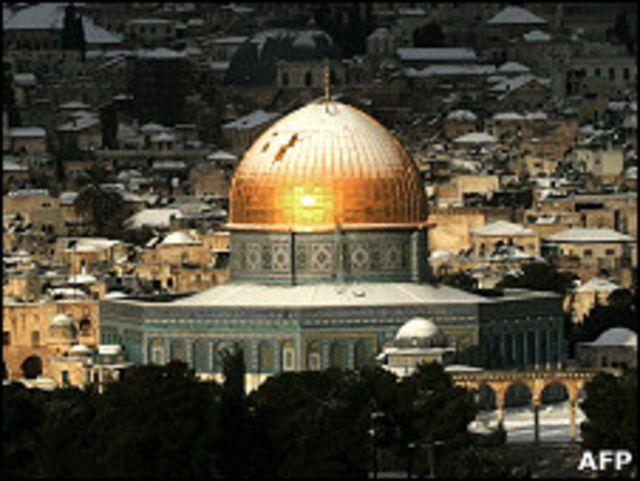 東耶路撒冷圓頂清真寺(資料圖片)