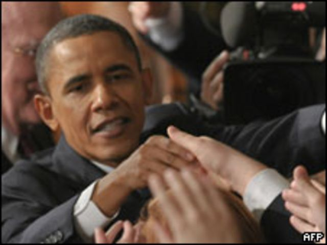 奧巴馬總統發表2011年國情咨文