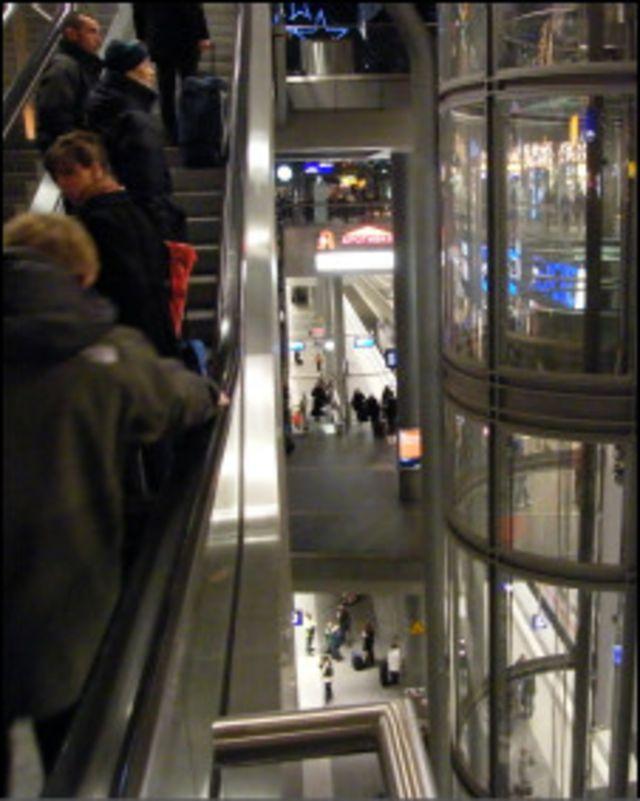 柏林火車站內景