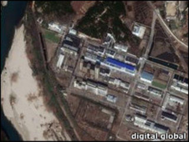 朝鮮核基地圖片