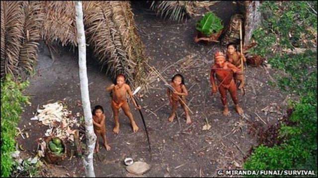 Индейцы племени Паноа
