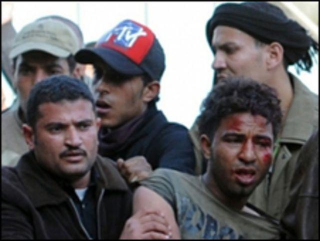 埃及示威者