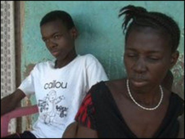 Саиду и его мать