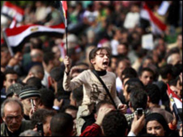 埃及反政府示威者