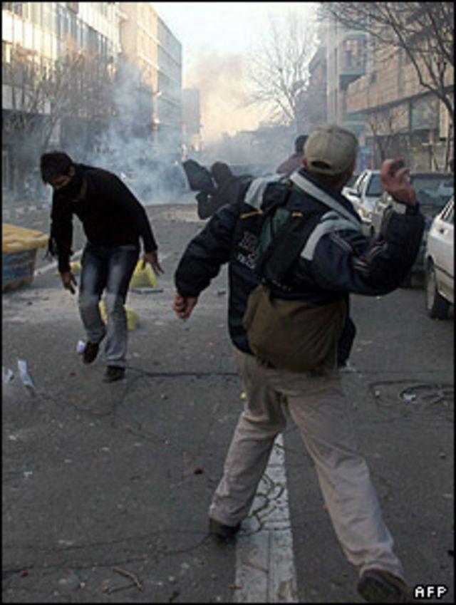 تظاهراتی در جو امنیتی و پلیسی بسیار سنگین انجام شده است