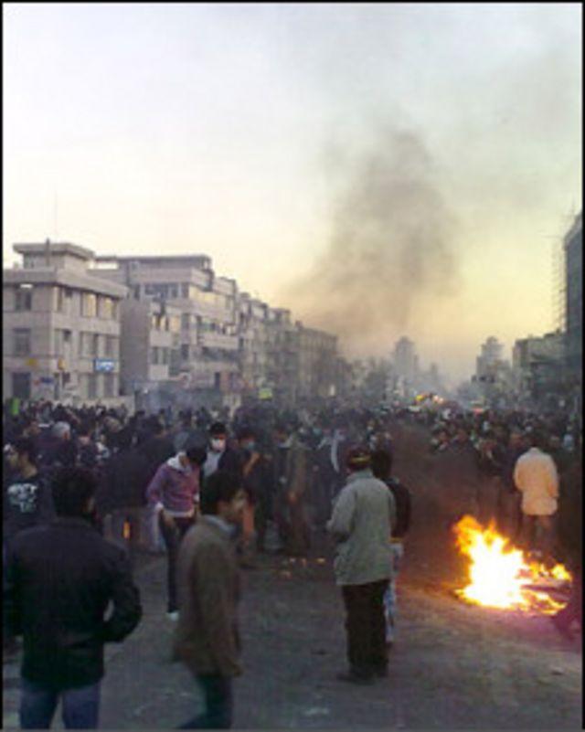 تظاهرات 25 بهمن تهران علیه دولت